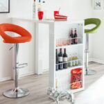Küchen Bartisch Wohnzimmer Küchen Bartisch Freda Mit Bildern Regal Küche