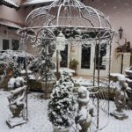 Pavillon Eisen Garten Wohnzimmer Pavillon Eisen