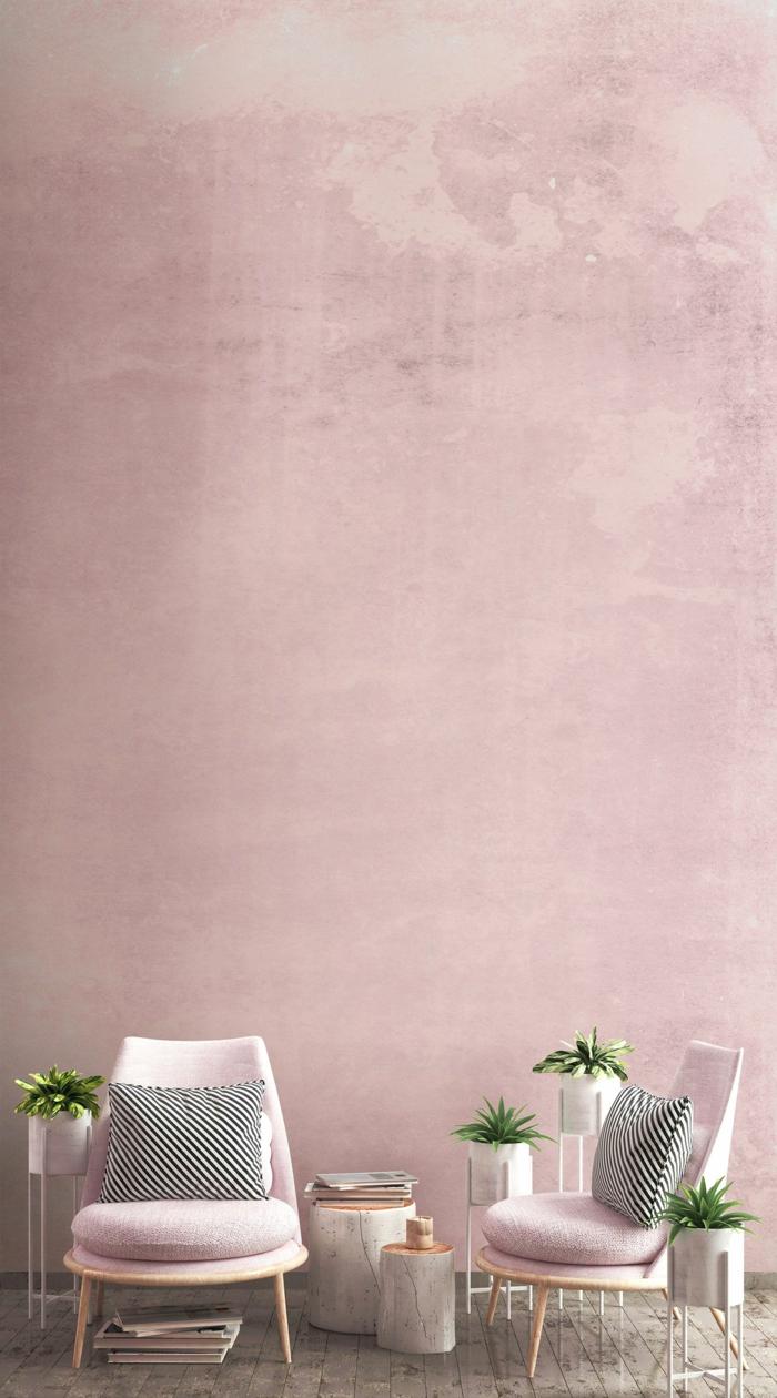 Full Size of 1001 Ideen Fr Bilder Wandfarbe Altrosa Rosa Küche Wohnzimmer Wandfarbe Rosa