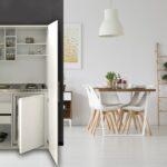 Roller Miniküche Wohnzimmer Roller Miniküche Respekta Schrankkche Kche Minikche Kchenzeile Real Stengel Ikea Mit Kühlschrank Regale