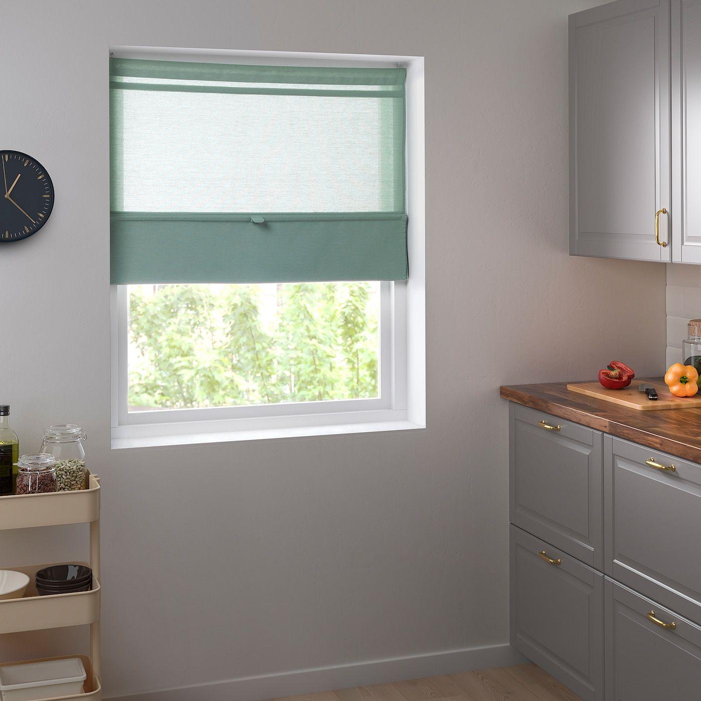 Full Size of Ringblomma Faltrollo Grn In 2020 Fenster Jalousien Innen Betten Ikea 160x200 Sofa Mit Schlaffunktion Bei Küche Kaufen Modulküche Miniküche Kosten Wohnzimmer Jalousien Ikea