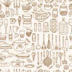 Retro Tapete Küche Weisse Landhausküche Holzküche Vorhänge Arbeitsplatten Rosa Sonoma Eiche Rückwand Glas Mit Elektrogeräten Günstig Was Kostet Eine Wohnzimmer Retro Tapete Küche