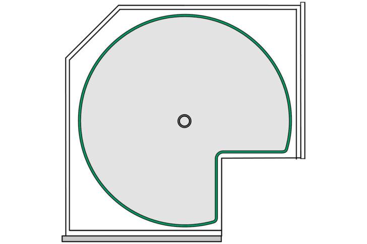 Medium Size of Küchen Eckschrank Rondell Intelligente Eckschrnke Fr Kche Kessebhmer Schlafzimmer Bad Küche Regal Wohnzimmer Küchen Eckschrank Rondell