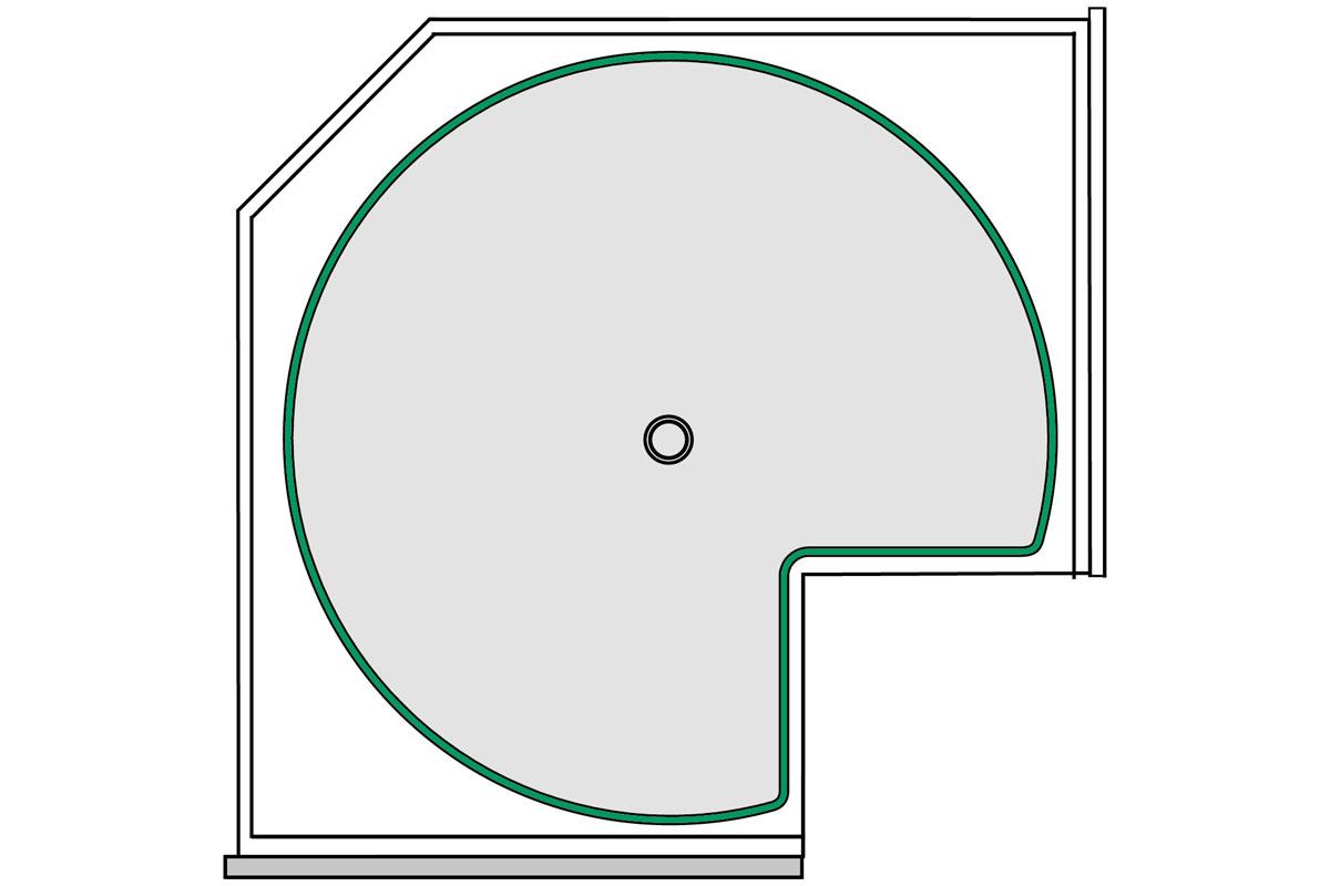 Full Size of Küchen Eckschrank Rondell Intelligente Eckschrnke Fr Kche Kessebhmer Schlafzimmer Bad Küche Regal Wohnzimmer Küchen Eckschrank Rondell