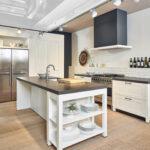 Weisse Landhausküche Moderne Landhauskche Mit Weien Paneelfronten Weiß Gebraucht Weisses Bett Grau Wohnzimmer Weisse Landhausküche