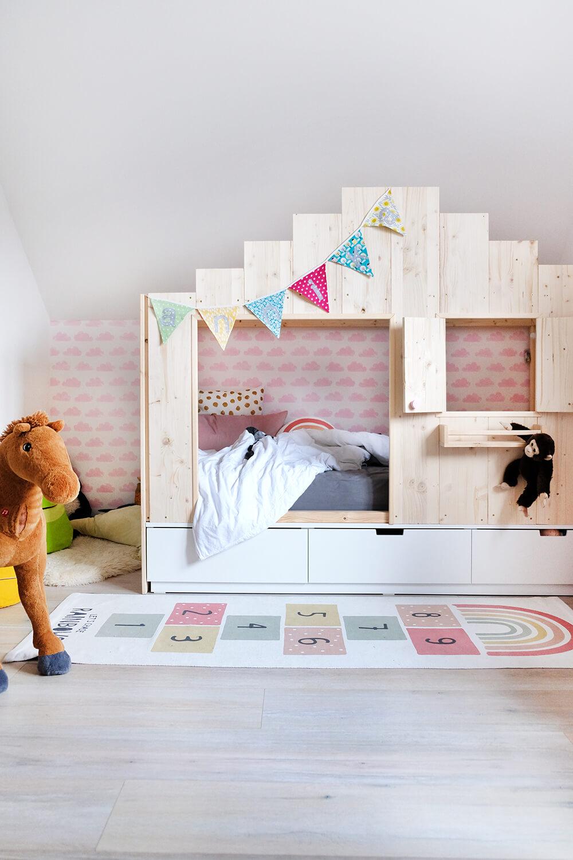 Full Size of Ikea Kinderbett Hausbett Haus Kinder 90x200 Kura Diy Bett Fr Das Kinderzimmer Wie Aus Dem Nordli Ein Regal Konzentrationsschwäche Bei Schulkindern Regale Wohnzimmer Hausbett Kinder Ikea