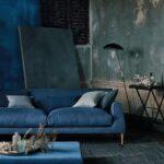 Moderne Wohnzimmer 2020 Wohnzimmer Moderne Wohnzimmer 2020 Impression In Blau Trend Industrielook Romo Duschen Wandbilder Deckenleuchte Esstische Wandtattoo Kommode Tapete Lampe Teppich Decke