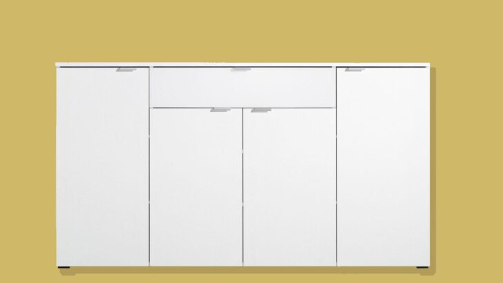 Medium Size of Sideboard Compleo Mehrzweckschrank In Wei Von Cs Schmal Wohnzimmer Vitrine Weiß Bett 180x200 Schmales Regal Küche Esstisch Badezimmer Hochschrank Wohnzimmer Sideboard Weiß Schmal