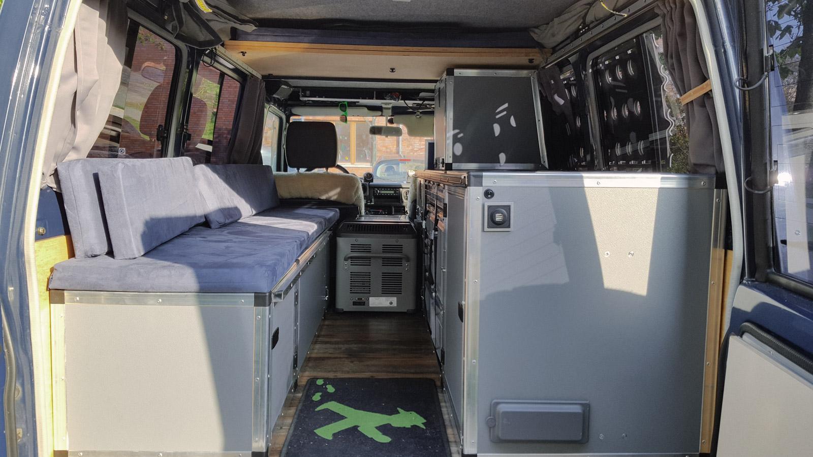 Full Size of Ausziehbett Camper Neue Sitzpolster Und Matratzen Fr Unseren Wir Sind Dann Bett Mit Wohnzimmer Ausziehbett Camper