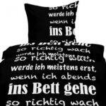 Bettwsche 135x200 Sprche 155x220 Baumwolle Kche Lustige T Shirt Sprüche Bettwäsche T Shirt Wohnzimmer Lustige Bettwäsche 155x220