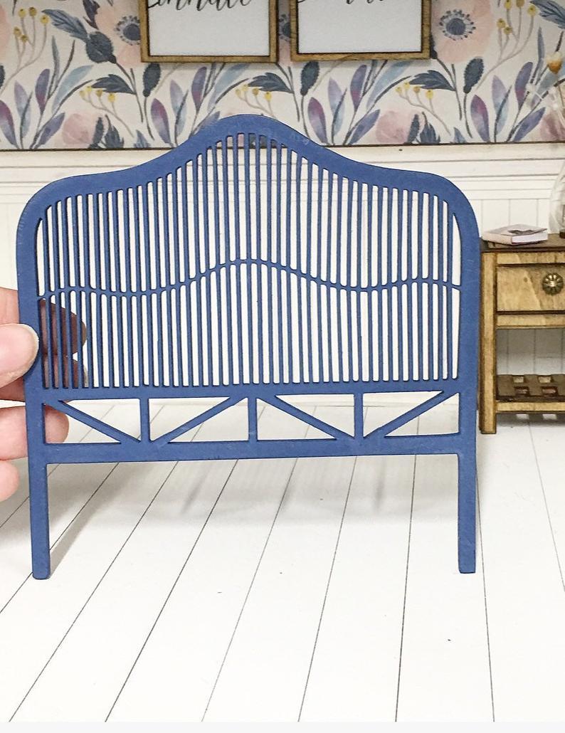 Full Size of Miniatur Dollhouse 112 Scale Bauernhaus Rattan Bett Mit Etsy Kinder Regal Kinderzimmer Weiß Kinderspielturm Garten Sofa Betten Regale Spielküche Wohnzimmer Rattanbett Kinder
