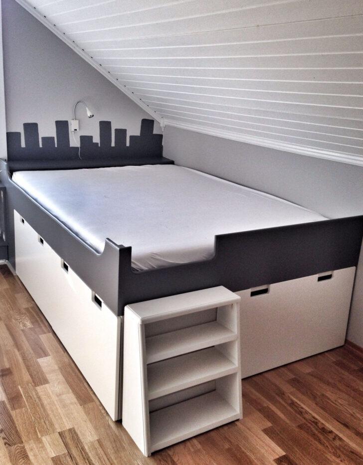 Medium Size of Palettenbett Ikea 140x200 42 Vbett Aus Schrnken Bauen Fhrung Sofa Mit Schlaffunktion Miniküche Küche Kaufen Kosten Betten 160x200 Bei Modulküche Wohnzimmer Palettenbett Ikea