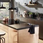 Landhausküche Wandfarbe Schwarze Kchen 8 Besten Gestaltungsideen Weisse Gebraucht Moderne Weiß Grau Wohnzimmer Landhausküche Wandfarbe