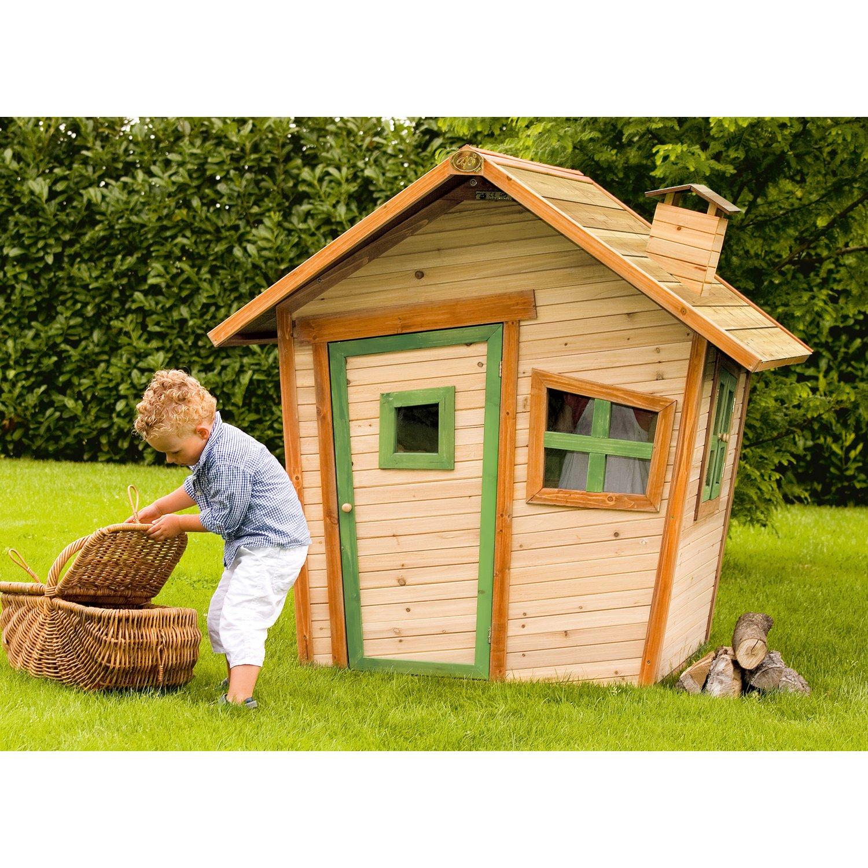 Full Size of Kinderspielhaus Holz Spielhaus Alice Mit Asymmetrischen Fenstern Kaufen Bei Obi Holzofen Küche Schlafzimmer Massivholz Regal Naturholz Holzküche Esstische Wohnzimmer Kinderspielhaus Holz