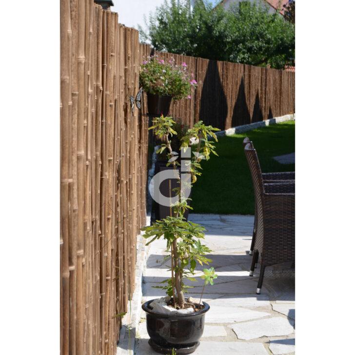 Medium Size of Paravent Bambus Balkon Robuster Holz Sicht Schutz Zaun Aty Nigra Von De Commerce Garten Bett Wohnzimmer Paravent Bambus Balkon