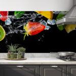 Fliesenspiegel Folie Wohnzimmer Fliesenspiegel Folie Kchenrckwand Selbstklebend Kiwi Alle Küche Sichtschutzfolie Für Fenster Selber Machen Einbruchschutz Einbruchschutzfolie Klebefolie Auto