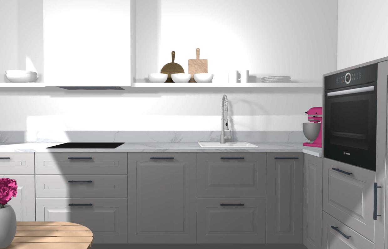 Full Size of Ikea Kche Planen Stylische Designerkche Mit Kleinem Budget Miniküche Laminat In Der Küche Kaufen Fettabscheider Unterschrank Schnittschutzhandschuhe L Wohnzimmer Eckschrank Ikea Küche