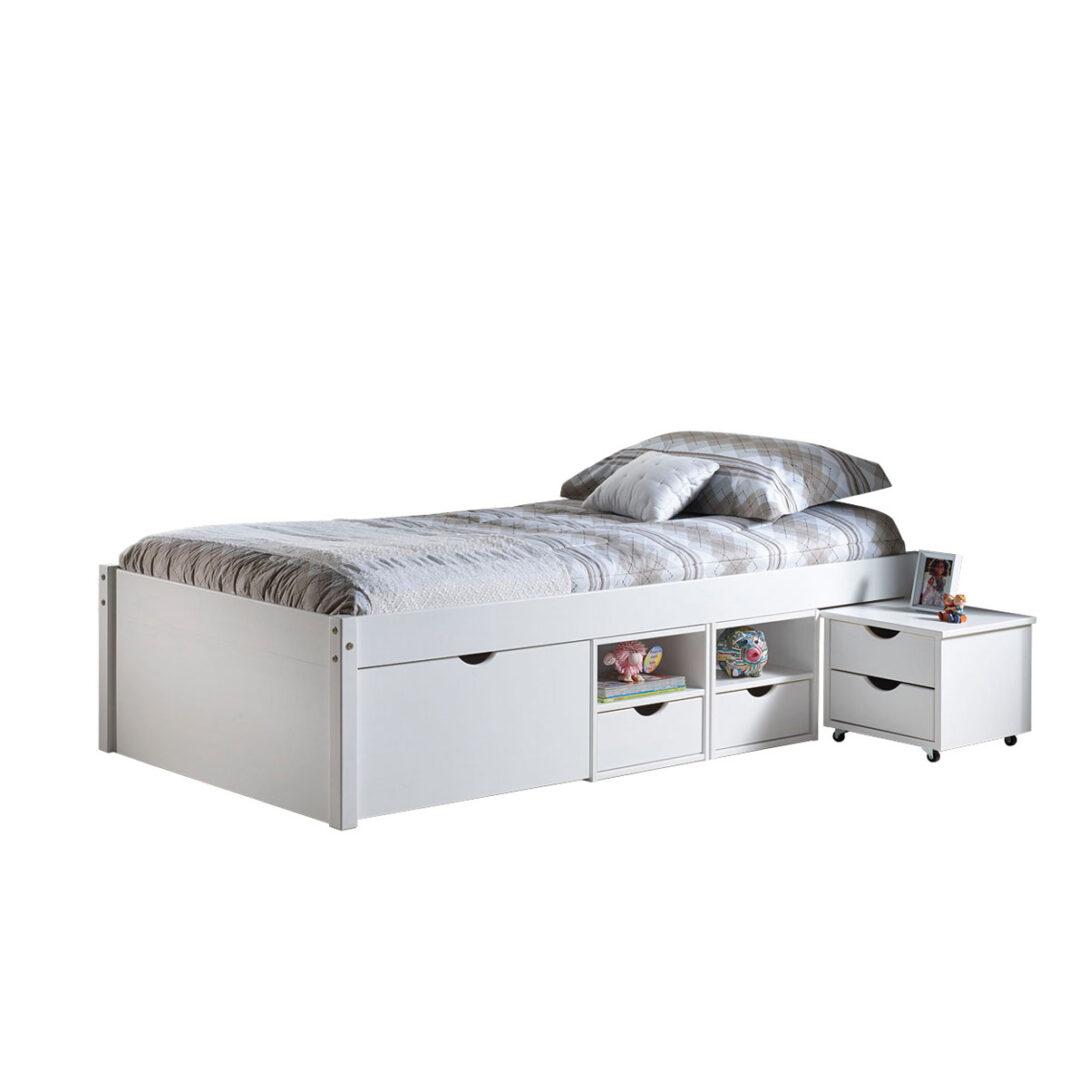 Large Size of Bett Mit Stauraum 90x200 Funktionsbett Till Preisvergleich Besten Angebote Nolte Betten Schubladen Weiß Vintage 80x200 140x200 Schlafzimmer Komplett Wohnzimmer Bett Mit Stauraum 90x200
