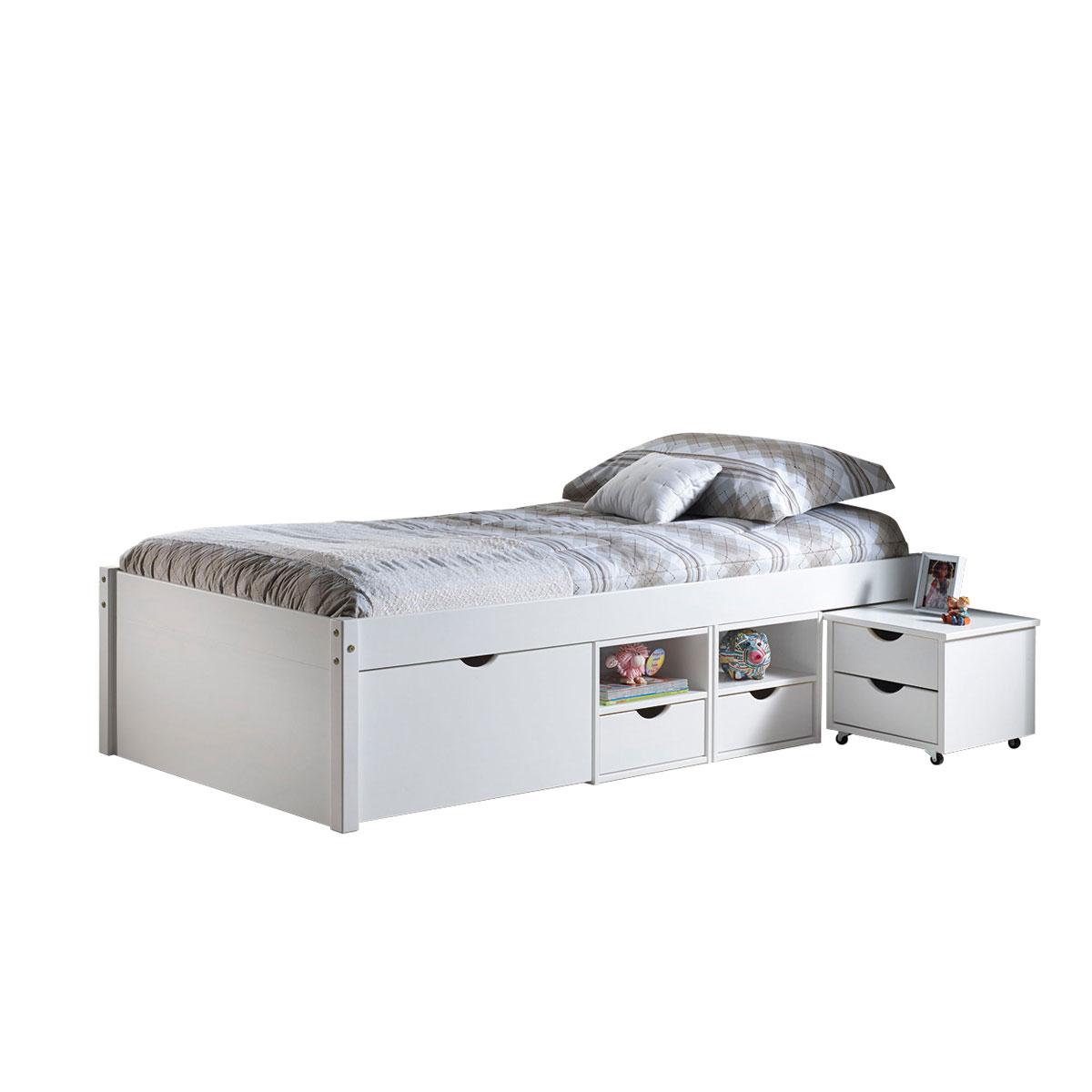 Full Size of Bett Mit Stauraum 90x200 Funktionsbett Till Preisvergleich Besten Angebote Nolte Betten Schubladen Weiß Vintage 80x200 140x200 Schlafzimmer Komplett Wohnzimmer Bett Mit Stauraum 90x200