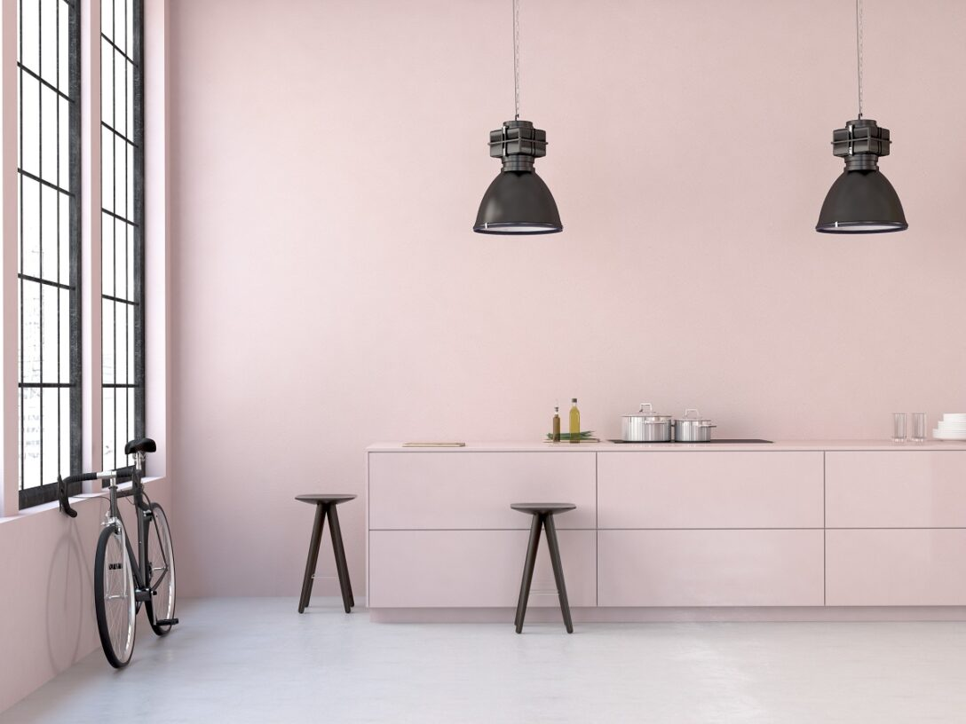 Large Size of Ros Kchen Kchendesignmagazin Lassen Sie Sich Inspirieren Küche Rosa Wohnzimmer Wandfarbe Rosa