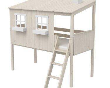 Halbhohes Hochbett Wohnzimmer Halbhohes Hochbett Flexa Classic Bett Aus Holz 90x200cm Mit Ganzem