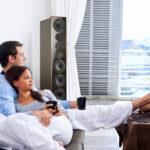 Sofa Mit Lautsprecher Und Licht Couch Musikboxen Poco Led Eingebauten Lautsprechern Bluetooth Integriertem Big Hülsta Günstig Kaufen 2 Sitzer Relaxfunktion Wohnzimmer Sofa Mit Musikboxen