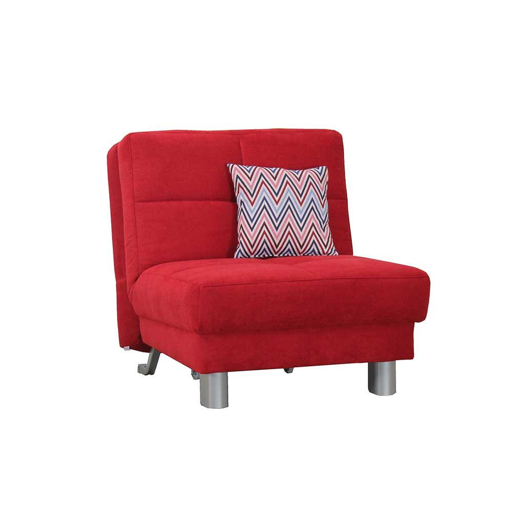 Full Size of Schner Sessel Wanda In Rot Zum Schlafen Pharao24de Ausklappbares Bett Ausklappbar Wohnzimmer Couch Ausklappbar
