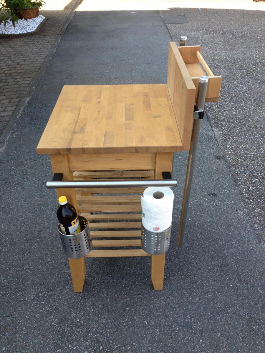 Full Size of Grill Beistelltisch Ikea Weber Tisch Pimp Mein Grillforum Und Klappbar Betten 160x200 Garten Miniküche Grillplatte Küche Kosten Modulküche Bei Sofa Mit Wohnzimmer Grill Beistelltisch Ikea