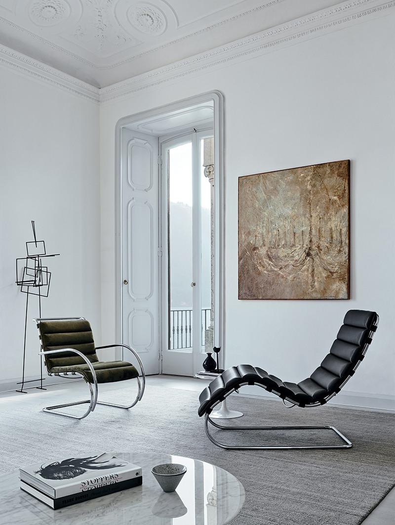 Full Size of Bauhaus Gartenliege Mr Edition Liege Knoll International Einrichten Designde Fenster Wohnzimmer Bauhaus Gartenliege