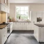 Landhauskche Mit Wei Gebeizten Holzfronten Küchen Regal Wohnzimmer Ballerina Küchen