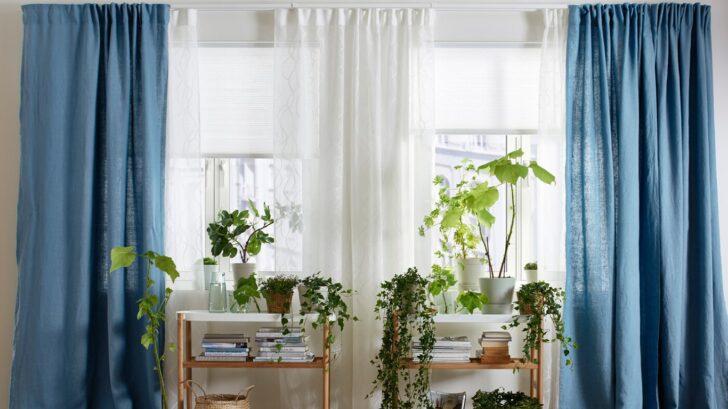 Medium Size of Richtige Temperatur Ikea Deutschland Gardinen Für Wohnzimmer Küche Schlafzimmer Die Scheibengardinen Fenster Wohnzimmer Gardinen Doppelfenster