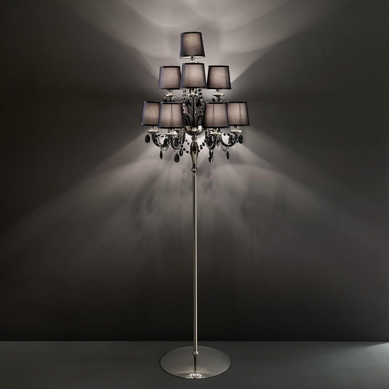 Full Size of Kristall Stehlampe Stehleuchte Klassisch Metall Mit Swarovski 445 Wohnzimmer Schlafzimmer Stehlampen Wohnzimmer Kristall Stehlampe