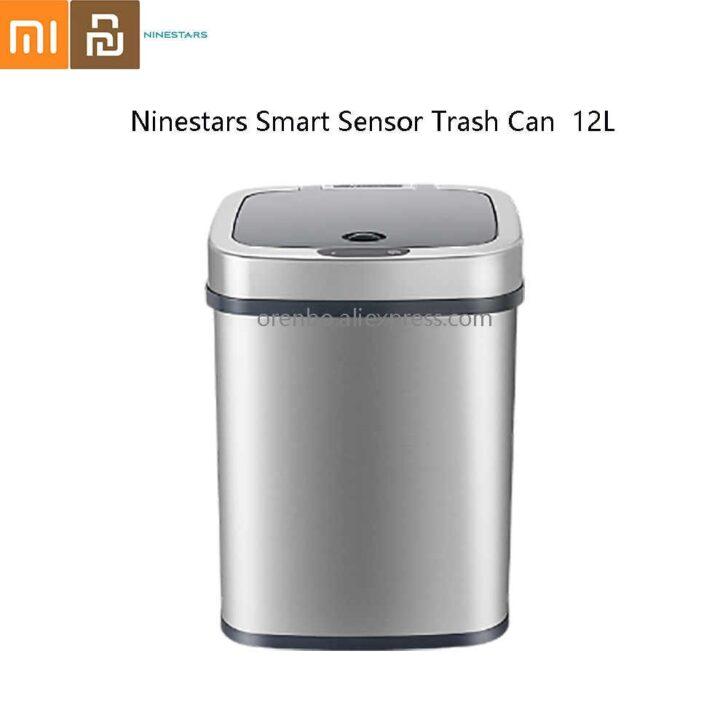 Medium Size of Ninestars Nst Smart Sensor Mlleimer Platz Doppelblock Küche Einbau Mülleimer Doppel Wohnzimmer Doppel Mülleimer