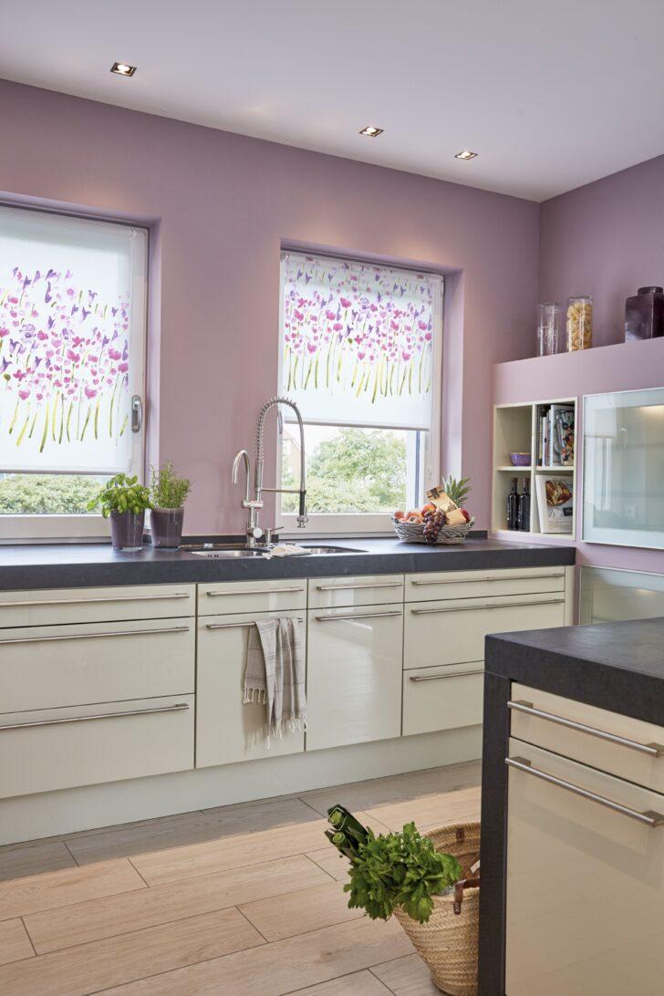 Medium Size of Küchen Raffrollo Dekor Rollo Monet Summer Ohne Bohren Mit Bildern Kchen Küche Regal Wohnzimmer Küchen Raffrollo