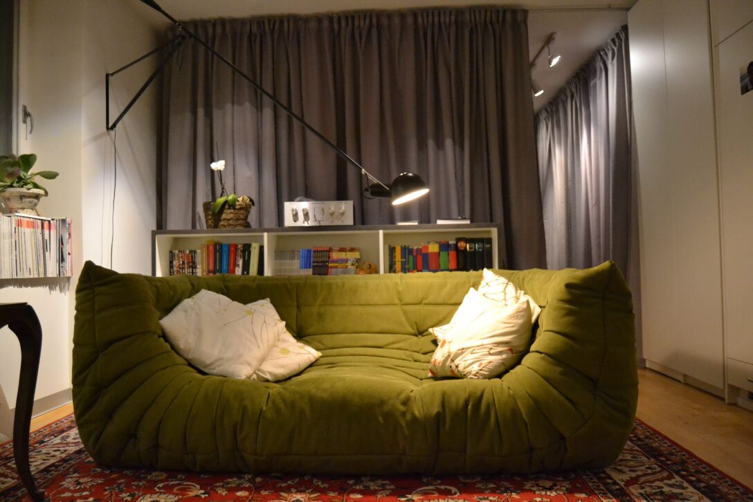 Large Size of Ligne Roset Togo 3 Places Dimensions List Replica Uk Occasion Suisse Sofa Gebraucht Verkaufen Fake Sessel Sale Love The From In This Olive Green Made Wohnzimmer Ligne Roset Togo