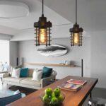 Industrie Einzigen Kopf Wohnzimmer Regale Küche Betten Bett Bad Esstische Lampen Esstisch Schlafzimmer Wohnzimmer Deckenleuchten Design