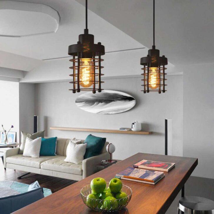 Medium Size of Industrie Einzigen Kopf Wohnzimmer Regale Küche Betten Bett Bad Esstische Lampen Esstisch Schlafzimmer Wohnzimmer Deckenleuchten Design