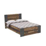 Bettgestell 120x200 Bettschubkasten Zu Bett Clif Von Forte Old Wood Vintage Mit Matratze Und Lattenrost Betten Bettkasten Weiß Wohnzimmer Bettgestell 120x200