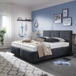 Oschmann Polsterbett Easy Best In Anthrazit Mbel Letz Ihr Bett 200x220 Betten Wohnzimmer Polsterbett 200x220