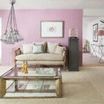 Wandfarbe Rosa Bilder Ideen Couch Küche Wohnzimmer Wandfarbe Rosa