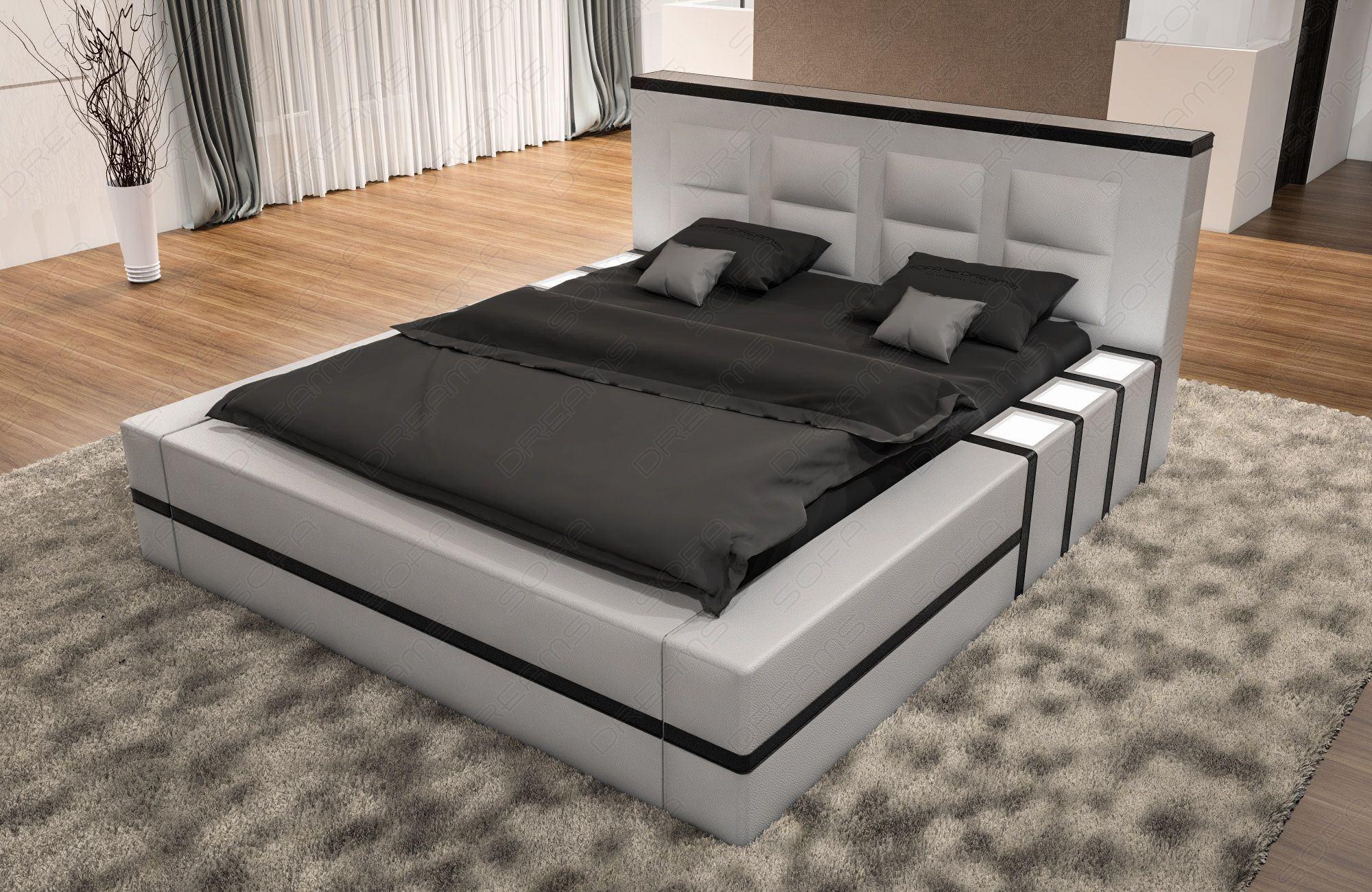 Full Size of Polsterbett Asti In Schwarz Wei Moderne Betten 200x220 Bett Wohnzimmer Polsterbett 200x220
