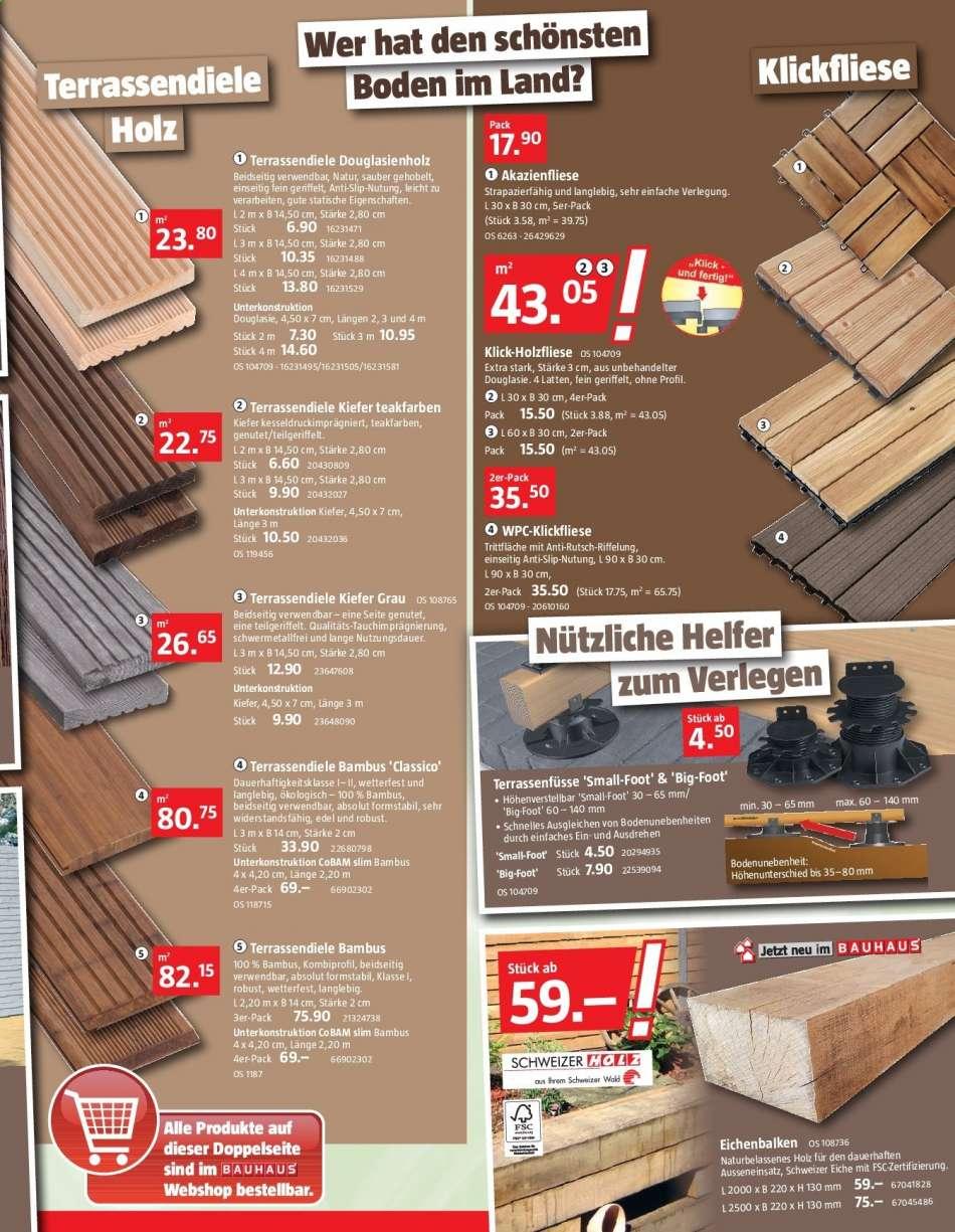 Full Size of Eichenbalken Bauhaus Prospekt 2462019 2872019 Rabatt Kompassch Fenster Wohnzimmer Eichenbalken Bauhaus