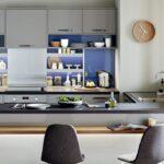 Küche Blau Grau Wohnzimmer Graue Kche Welche Wandfarbe Eignet Sich Am Besten Küche Buche Regal Grau Waschbecken Mit Elektrogeräten Günstig Arbeitstisch Raffrollo Jalousieschrank