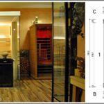 Außensauna Wandaufbau Lauraline Sauna Design Glas Glasfront Wohnzimmer Außensauna Wandaufbau