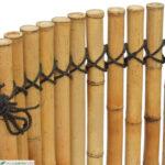 Abtrennwand Garten Trennwand Holz Gebundene Bambusmatte Nagoya Typ Nature Mit Kokos Spielturm Jacuzzi Bewässerungssysteme Spielgeräte Edelstahl Vertikaler Wohnzimmer Abtrennwand Garten