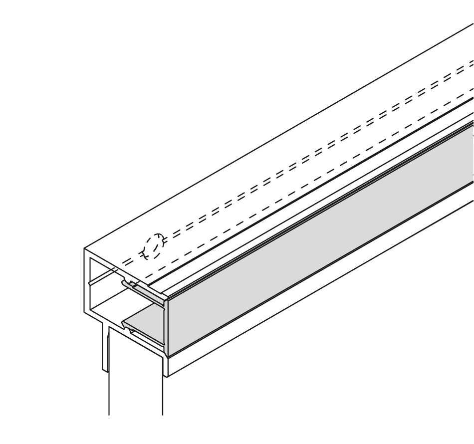 Full Size of Nolte Blendenbefestigung Verblendungsprofil Des Abschlussprofils Original Betten Küche Schlafzimmer Wohnzimmer Nolte Blendenbefestigung