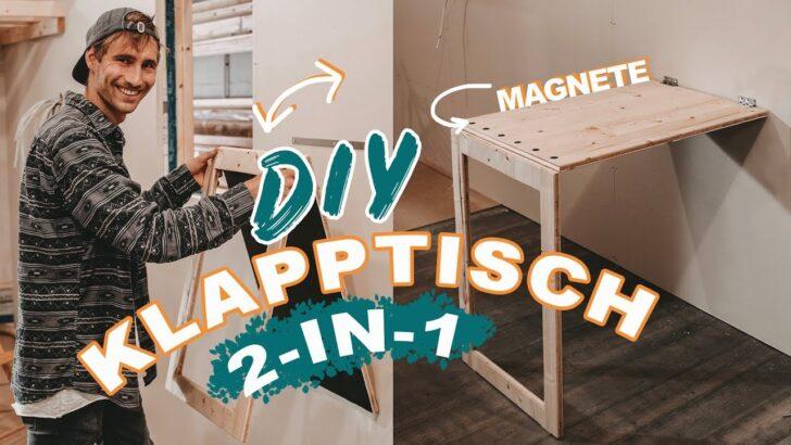 Medium Size of Klapptisch Platzsparender Diy 2 In 1 Fr Tiny House Kleine Küche Garten Wohnzimmer Wand:ylp2gzuwkdi= Klapptisch
