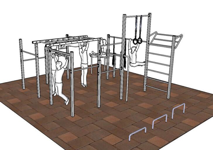 Medium Size of Outdoor Fitness Gerte Fr Familien Und Freaks Klettergerüst Garten Wohnzimmer Klettergerüst Indoor Diy