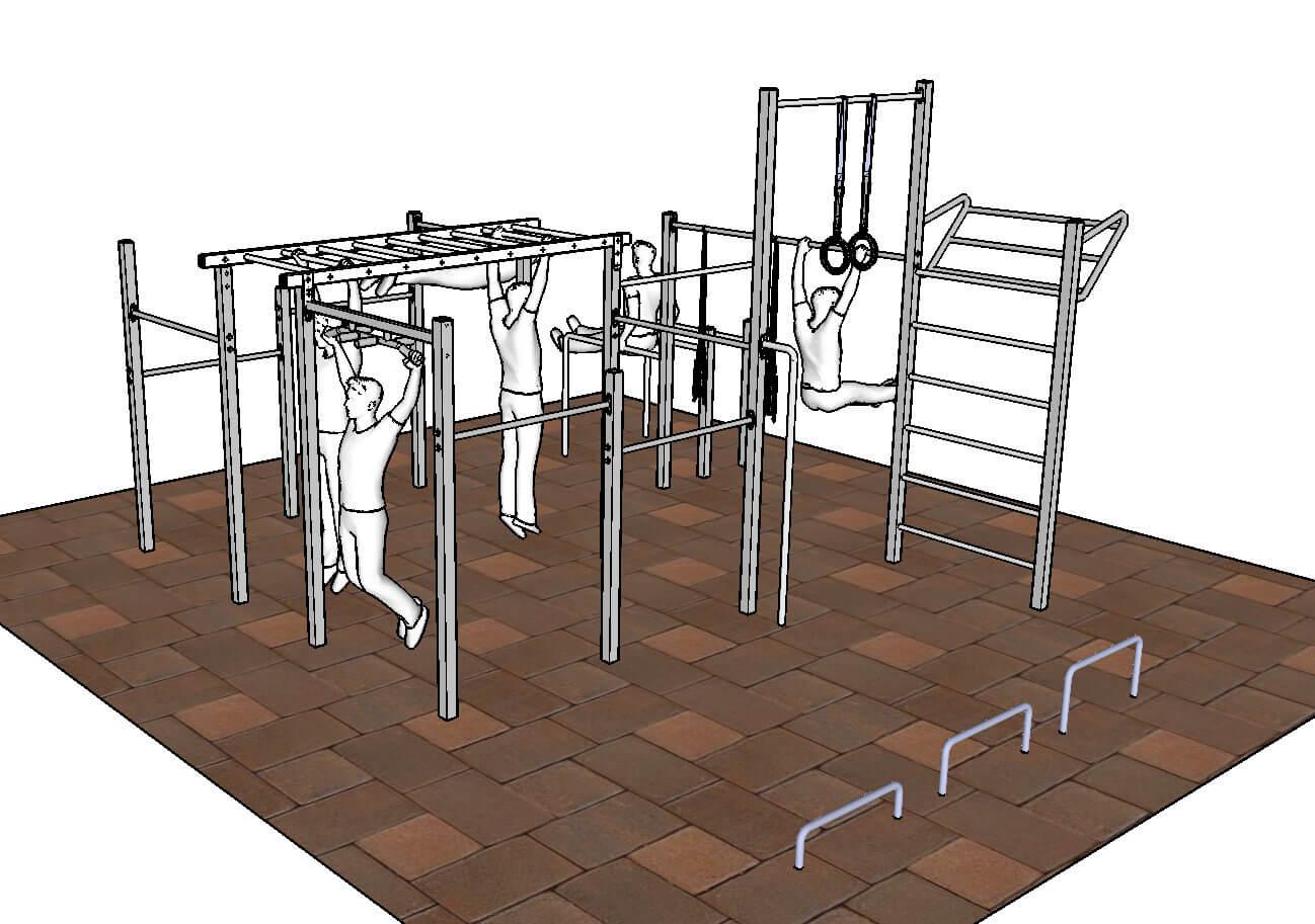 Full Size of Outdoor Fitness Gerte Fr Familien Und Freaks Klettergerüst Garten Wohnzimmer Klettergerüst Indoor Diy