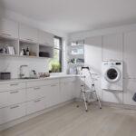 Küchenzeile Mit Waschmaschine Einen Hauswirtschaftsraum Planen Und Praktisch Einrichten Kcheco Küche Elektrogeräten Günstig Bett Schreibtisch Stauraum Wohnzimmer Küchenzeile Mit Waschmaschine